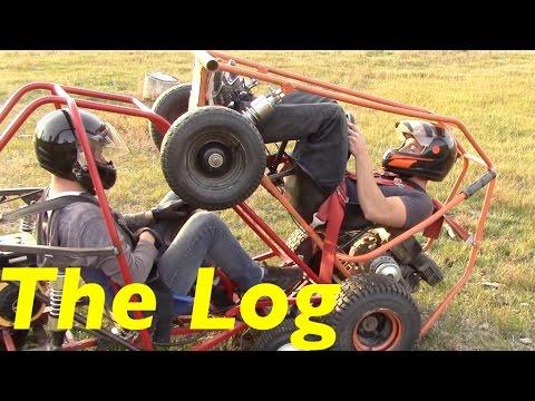 Homemade Go-Karts (Log Removal)