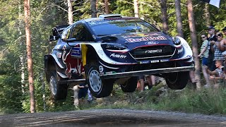 WRC Rally Finland 2018 - JUMPS & MAX ATTACK