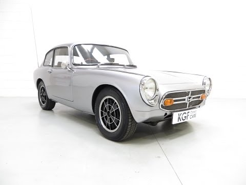 An incredible Honda S800 Coupe with Competition Success and Last Owner 40 years - SOLD!