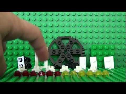 Mini Series: How To Build A Mini Lego Feris Wheel
