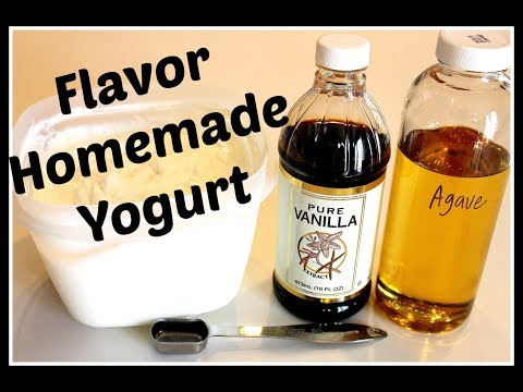 When to add Flavoring to Homemade Yogurt