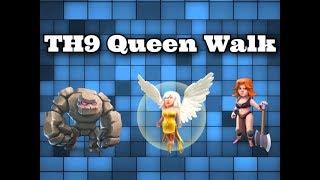 افضل استراتيجية مسح تاون 9 الملكة الماشية لايف  Best Strategy Survey Town 9 Queen Wallk Live