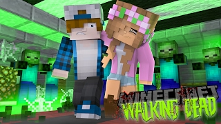 Minecraft THE WALKING DEAD - WE SAVED LITTLE KELLY, BUT FOR HOW LONG ??? w/ Little Kelly