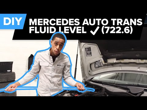 How to Check Mercedes Automatic Transmission Fluid Level (722.6)   FCP Euro
