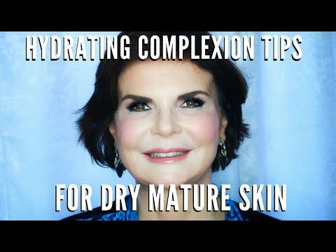 Complexion Tips for Mature Women w Dry Skin | Foundation & Concealer Tutorial | mathias4makeup
