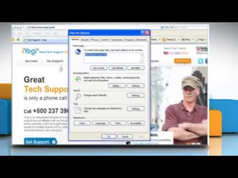 Internet Explorer® 7: How to reset default home page on Windows® XP?