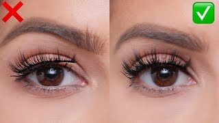 FALSE LASHES: Do's and Don'ts | For Beginners!