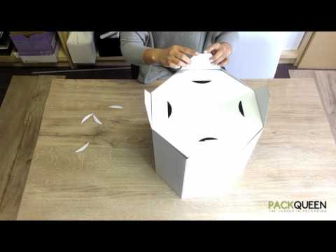 How to Fold your PACKQUEEN Box - Hat Boxes