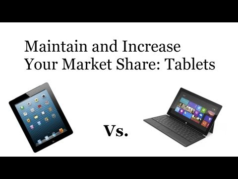 Maintain and Increase Your Market Share: Tablets