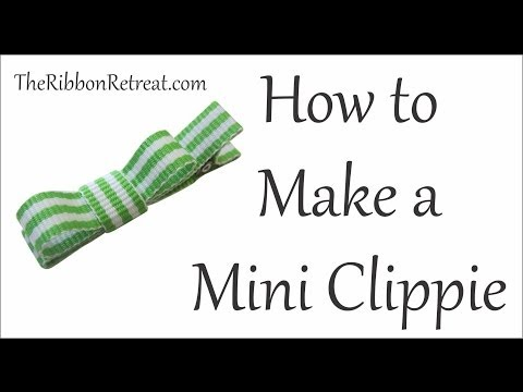 How to Make a Mini Clippie - TOTT Instructions