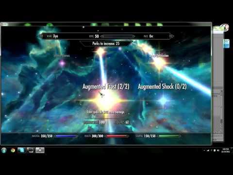 Skyrim Perk Builds! Ep. 2 Spell Sword
