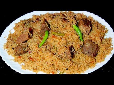 Beef Pulao Recipe - Beef Smoked Pulao - Beef Yakhni Pulao Recipe