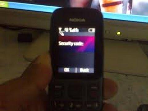 Nokia 101,Password unlock,Read password code,Read user code password