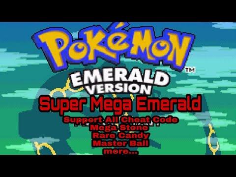 Download Pokemon Super Mega Emerald GBA Support all Cheat Code