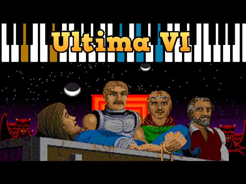 Ultima VI Introduction Music performed on vintage Yamaha PS-55