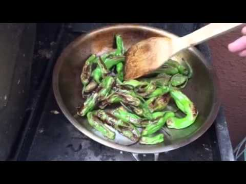 Easy Cooking  Shishito Peppers