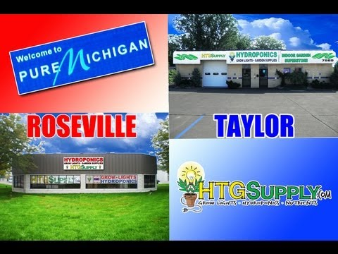 HTGSUPPLY HYDROPONIC GROW SHOP DETROIT AREA STORES TV COMMERCIAL - ROSEVILLE & TAYLOR
