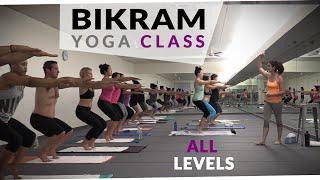 Bikram Yoga Workout - 🔥 60 Minute Hot Yoga with Maggie Grove