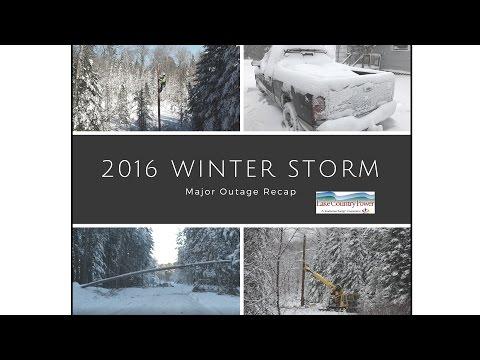 LCP Winter Storm Recap