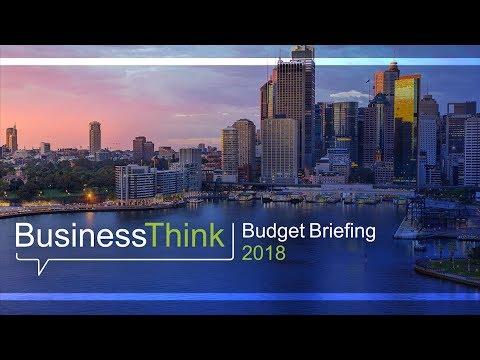 UNSW BusinessThink Budget Briefing 2018