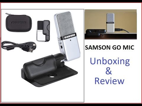 Samson Go Mic - Unboxing & Review