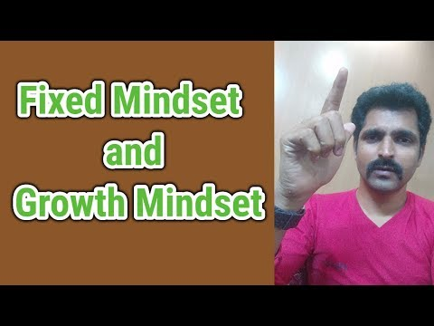 Growth Mindset vs Fixed Mindset - Improve yourself in Tamil