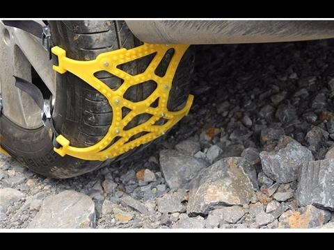 Цепи противоскольжения цепи на колеса Anti skid chains
