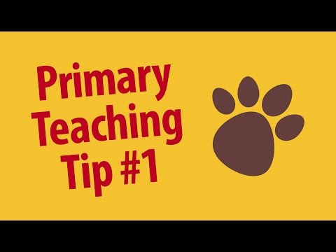 Primary Teaching Tip: Starting Routine