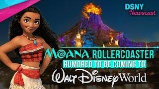 Moana VOLCANO! Rollercoaster Rumored for Walt Disney World??? - Disney News - 2/5/17
