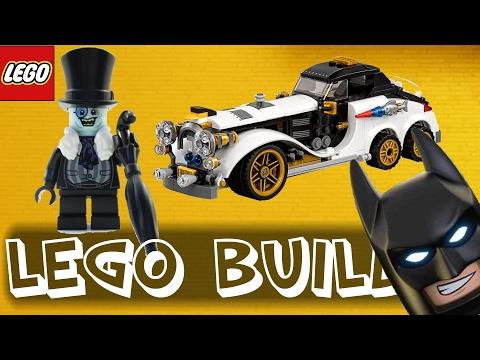 Lego Batman Movie Penguin Arctic Roller 70911 | Time-lapse Build / Unboxing & Review!