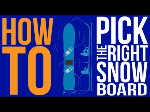 How to Pick The Right Snowboard Size