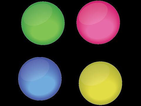 how to create Illustrator Glossy Orb Tutorial
