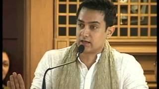 Speech by Amir Khan