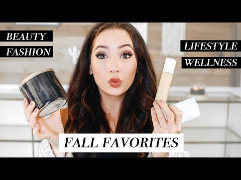 MY FALL 2017 FAVORITES! Beauty, Fashion, & More! | Caitlin Bea