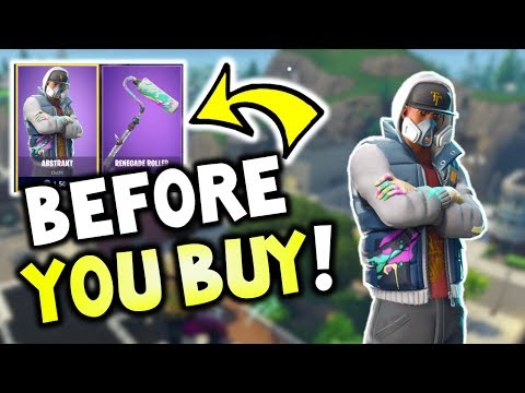 *NEW* Abstrakt + Renegade Roller - BEFORE YOU BUY? - FORTNITE ITEMS + PERSUADER - DAILY SHOP RESET,