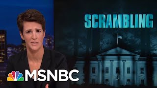 President Donald Trump's Scramble To Block Congressional Investigations   Rachel Maddow   MSNBC