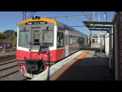 Trains and buses at Frankston - Melbourne Transport