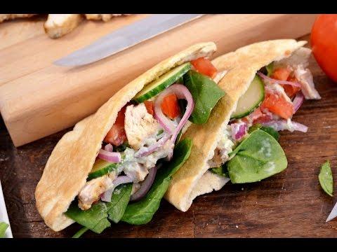 Chicken Gyro Recipe - How to Make Tzatziki Sauce | RadaCutlery.com