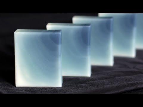 Ombre Cold Process Soap - Wall Pour