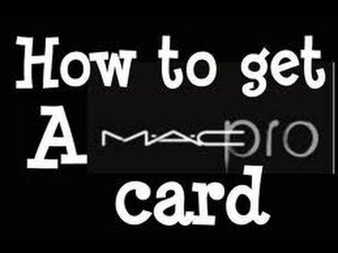How I Obtained My Mac Pro Card