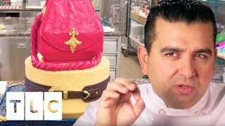 Italian Leather Handbag Cake | Cake Boss