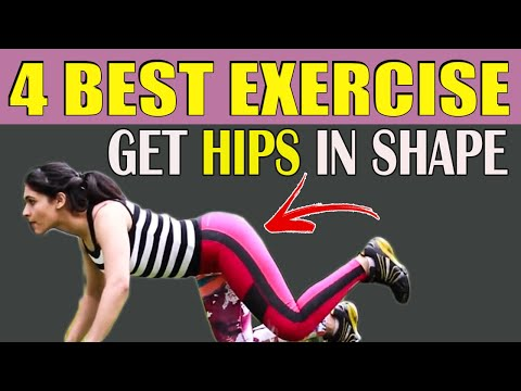 How To Get Your Hips In Shape?(Hindi) // हिप्स की चर्बी कैसे  करे कम? //आकर्षित BUTTS