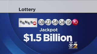 Powerball Numbers Drawn