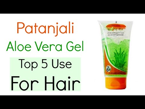 How to Use Patanjali Aloe Vera Gel for Hair | Top 5 Ways