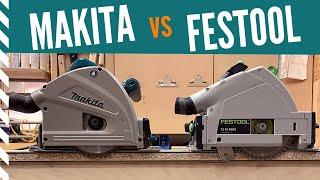 Railsaws: Makita SP6000 vs Festool TS55
