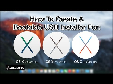 How To Create a Bootable USB Installer for OS X El Capitan 10.11