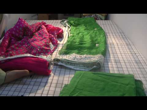 sewing hand embroidery suit