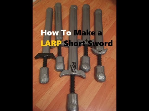 HOW TO Make a LARP/Boffer Safe Weapon  L.A.S.T. Productions