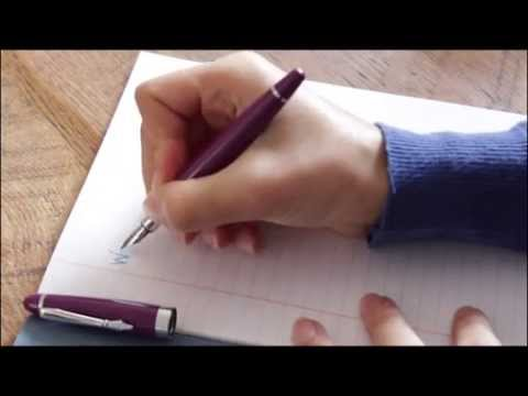 PLOOMS: How to improve your handwriting
