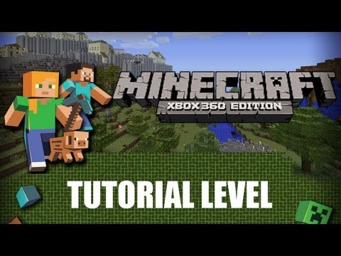 Minecraft Xbox 360 Edition, tutorial level walkthrough